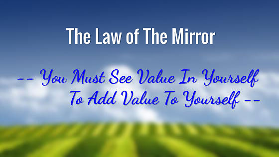 The law of the mirror for Mirror meaning